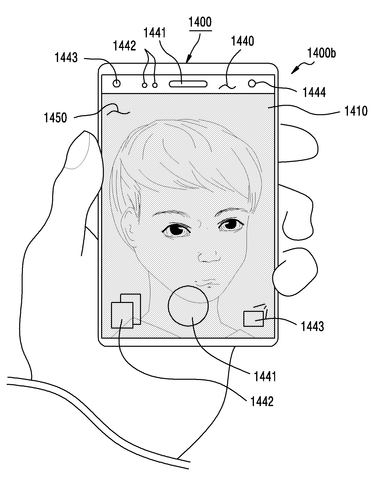 Samsung patent device unveils the sliding display screen- video call enable